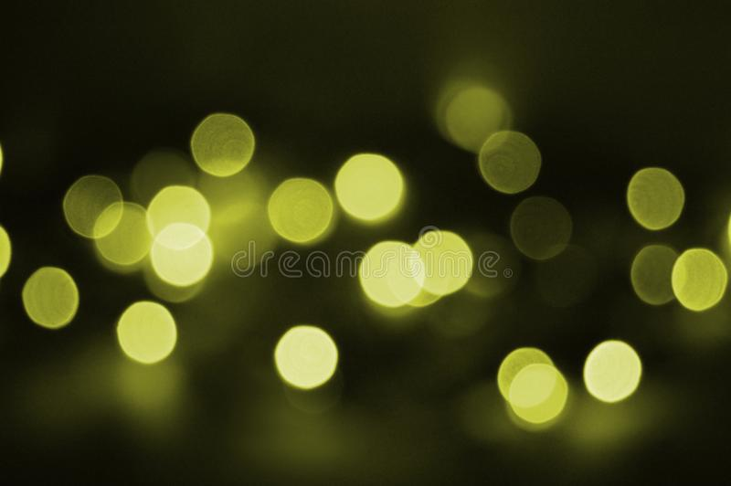 Holiday yellow light royalty free stock photos