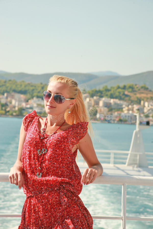 Holidays on Adriatic coast. Peace and tranquility, a surge of emotion and joy of life. As we were living in the daily bustle of the capital, this is not enough stock photos