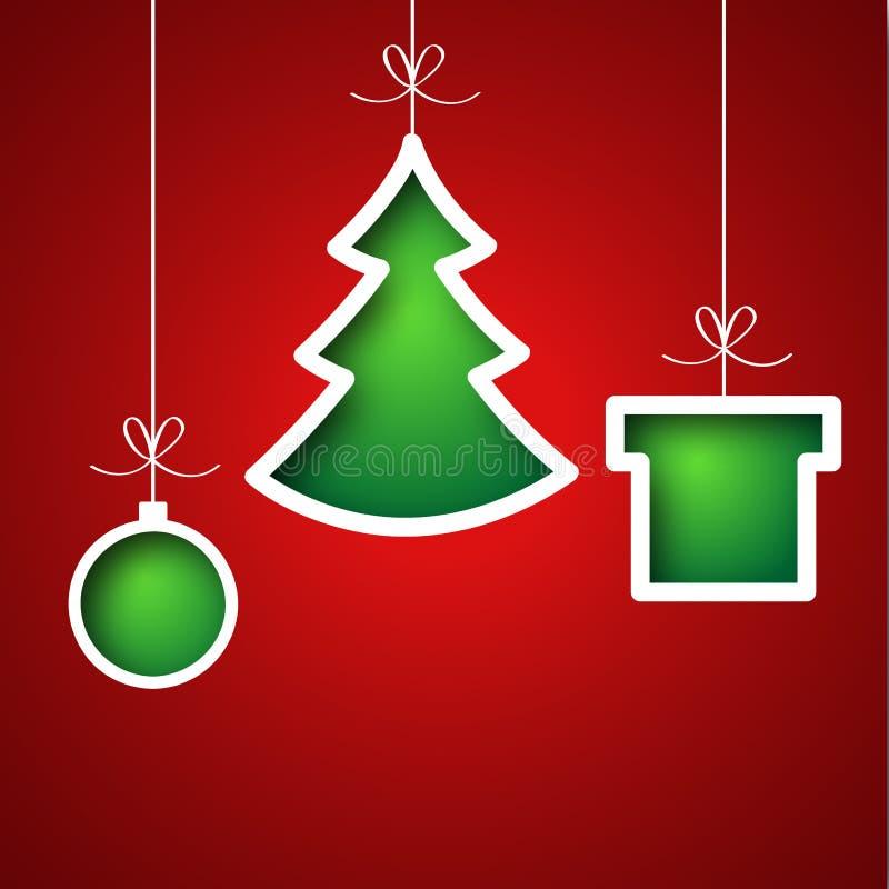 Holidays background. With bows - illustration stock illustration