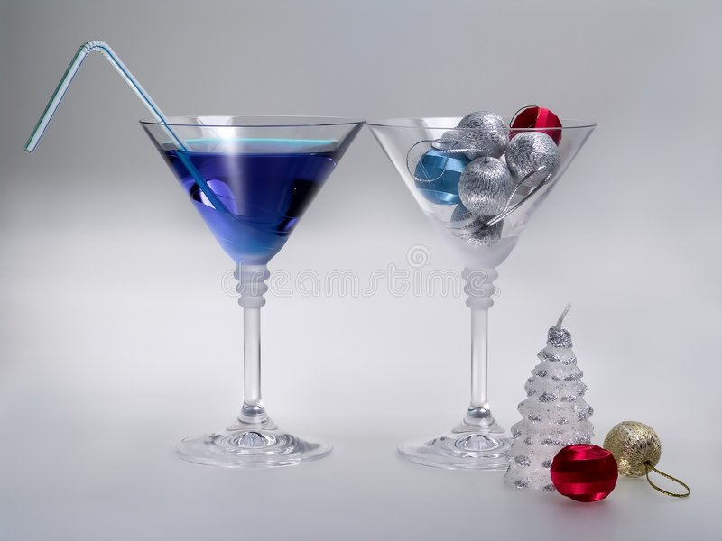 Holidays cocktail stock photography