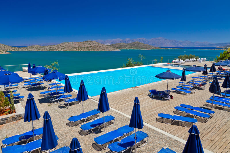 Download Holidays At Mirabello Bay In Greece Royalty Free Stock Photo - Image: 26805095