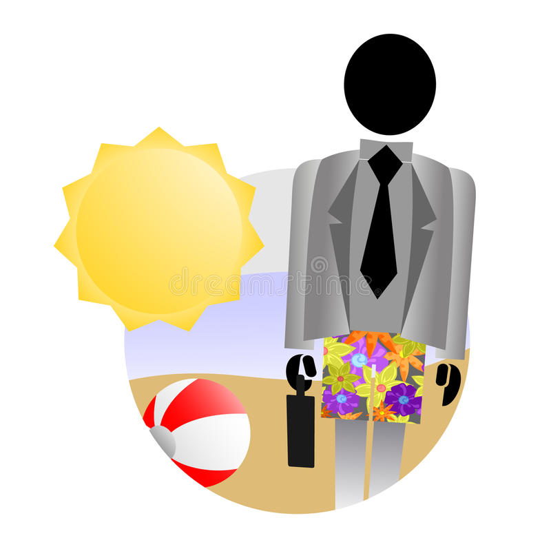 Download Holidays relax stock vector. Illustration of employer - 24883296