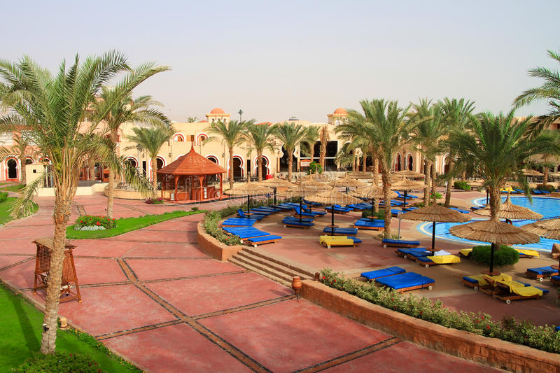 Download Holidays In Tropical Resort Of Egypt Stock Photo - Image: 24779842