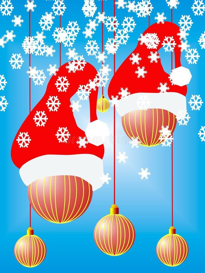 Holidey van Kerstmis stock illustratie