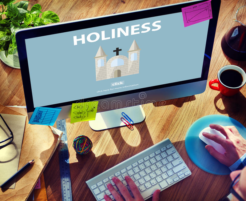 Holiness Holy Religion Spirituality Wisdom Church Concept royalty free stock image