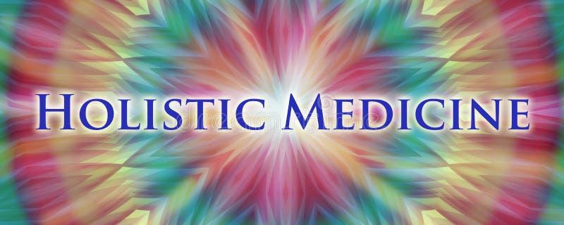 holistic medicin stock illustrationer