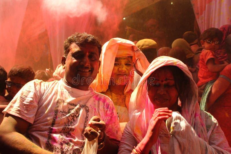 Holiviering in Barsana royalty-vrije stock foto's