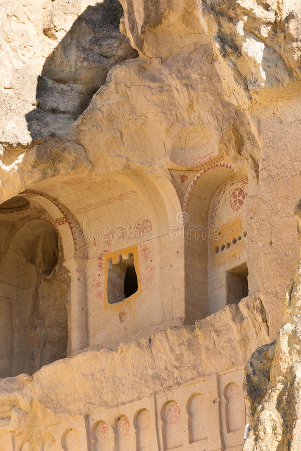 Holkerk in Cappadocia stock afbeelding