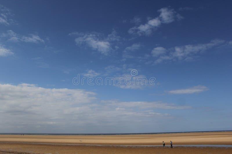 Holkham plaża fotografia stock