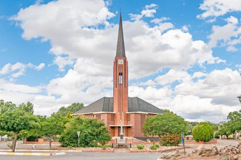 Holländare omdanad kyrka i Edenburg royaltyfri foto