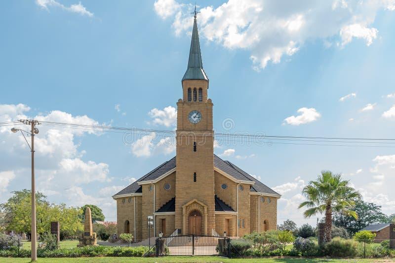 Holländare omdanad kyrka i excelsior royaltyfria bilder