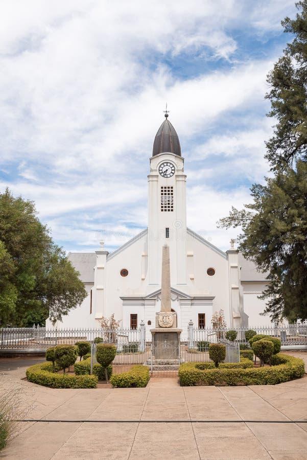 Holländare omdanad kyrka i Jacobsdal royaltyfria bilder