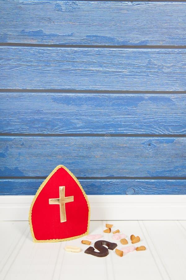Holländer Sinterklaas-Süßigkeit lizenzfreie stockbilder