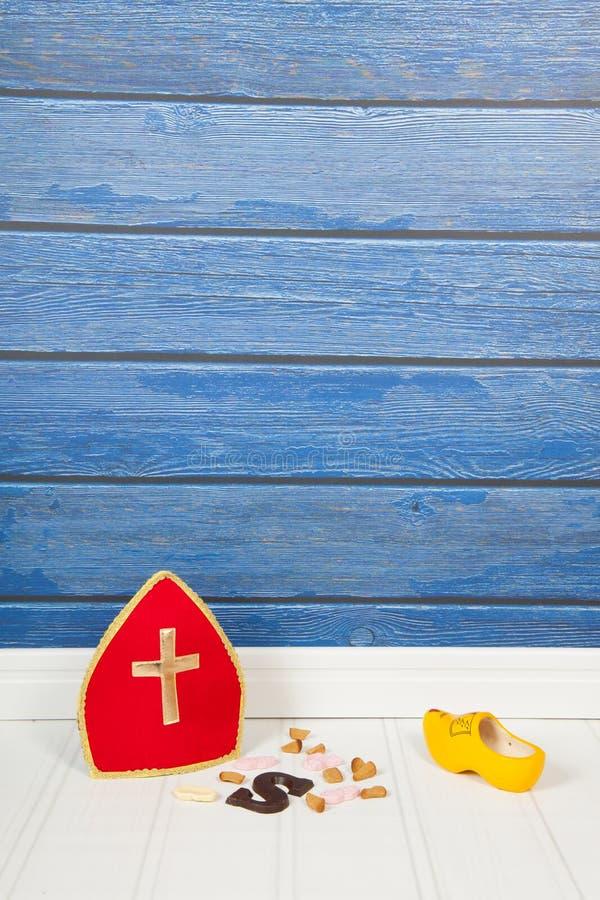 Holländer Sinterklaas-Süßigkeit lizenzfreie stockfotografie