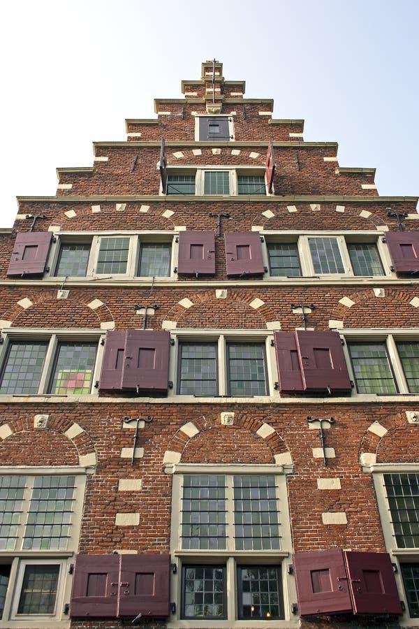 Holländische Fassade lizenzfreie stockfotos