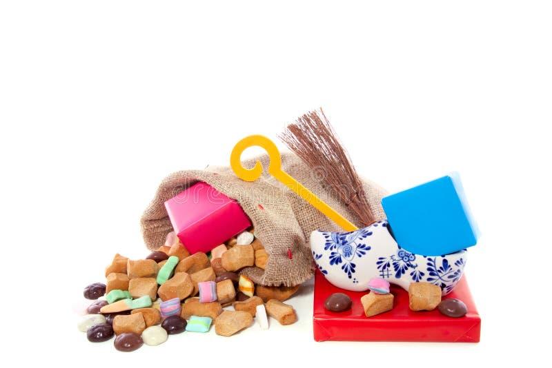 Holländische Feier Sinterklaas stockbild