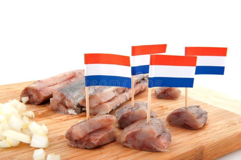 Holländische Heringe stockbilder