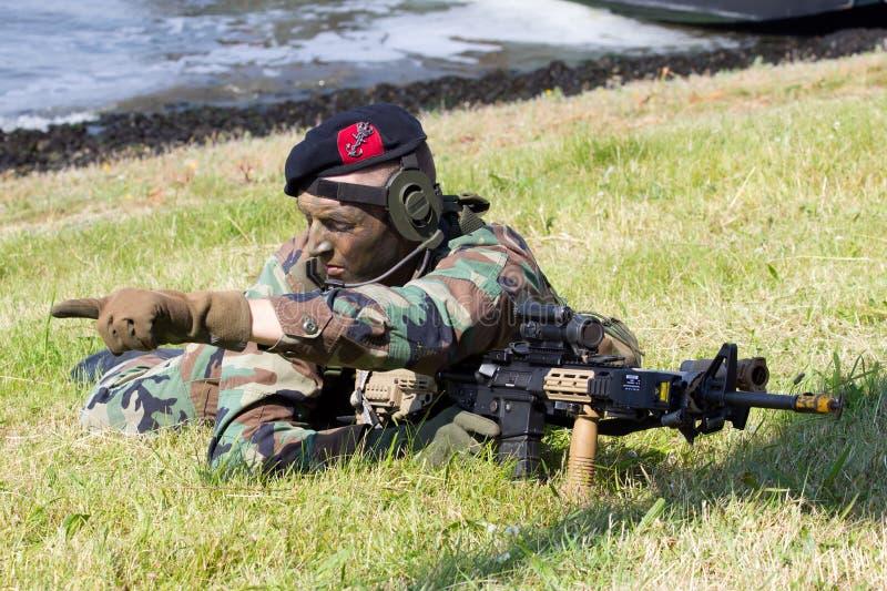 Holländische Marine stockfotos