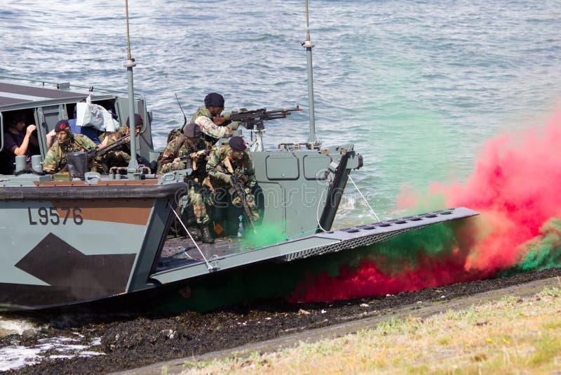 Holländische Marinen lizenzfreies stockbild