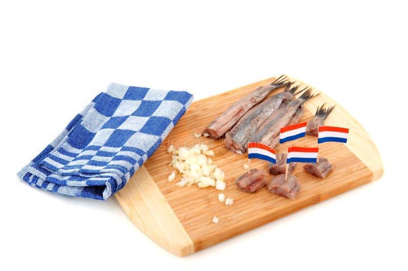 Holländische rohe Fische lizenzfreie stockbilder