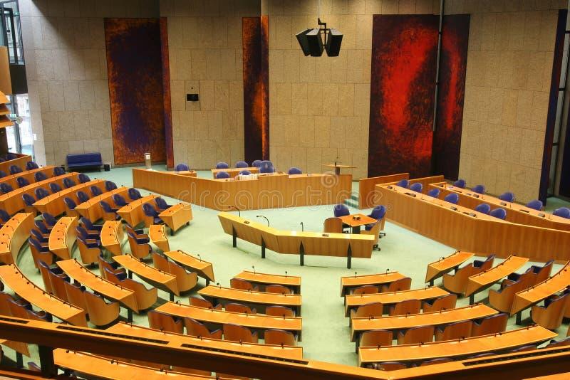 Holländisches Parlament stockbilder