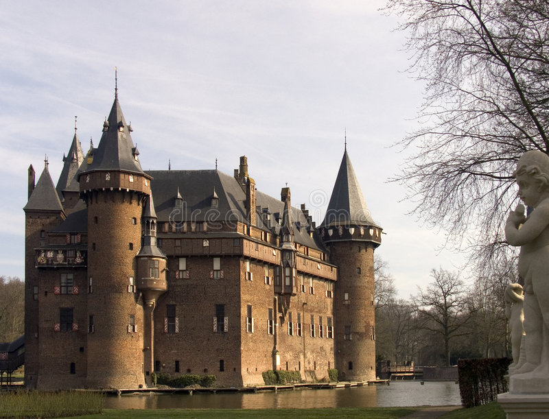 Holländisches Schloss 6 stockbild