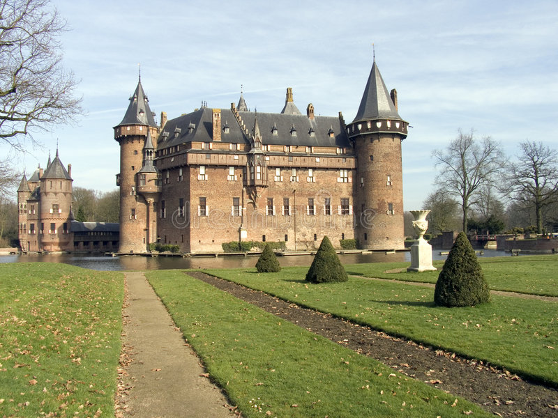 Holländisches Schloss 8 lizenzfreies stockfoto