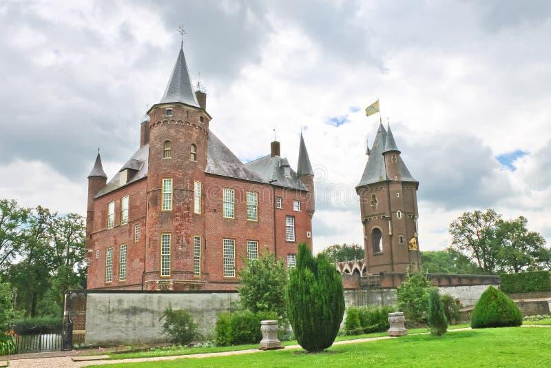 Holländisches Schloss Heeswijk. stockfotografie