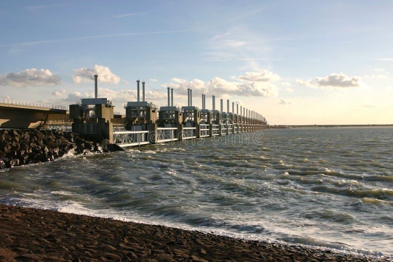 Holländisches Wasserwerk lizenzfreie stockfotos