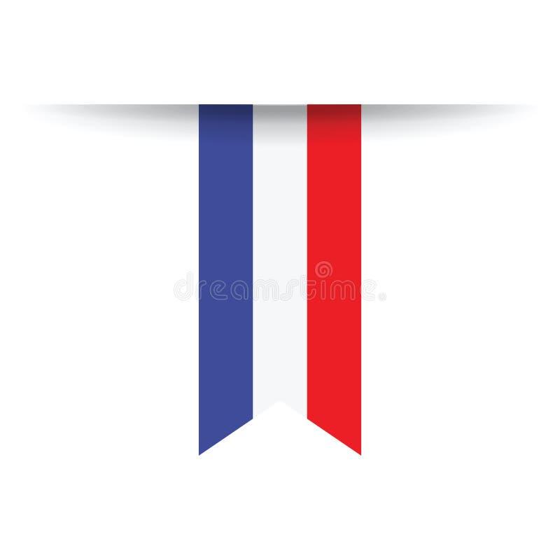 holländsk flagga stock illustrationer