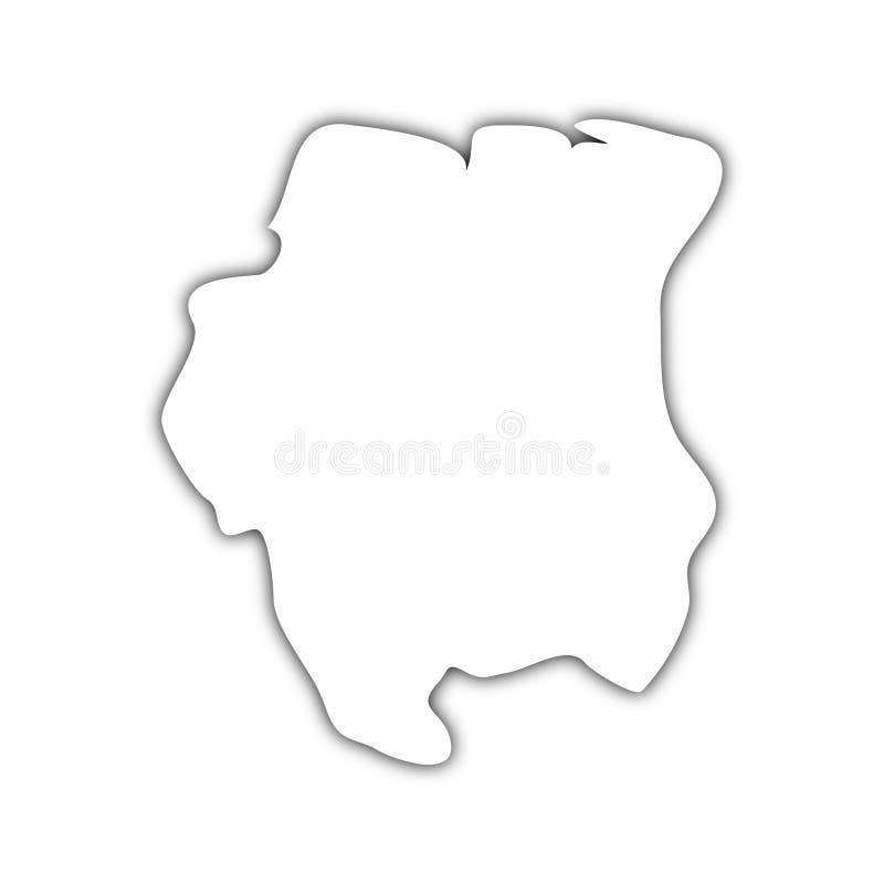Holländsk guiana översiktsskugga