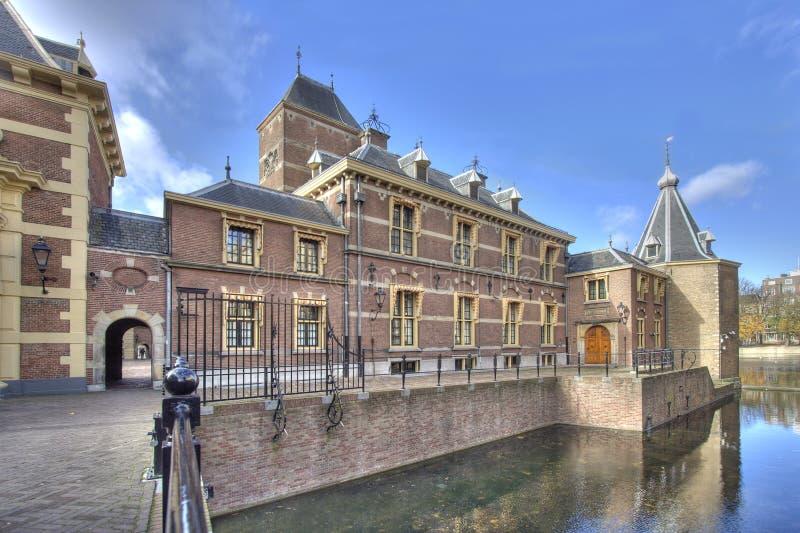 holländsk parlament royaltyfria foton