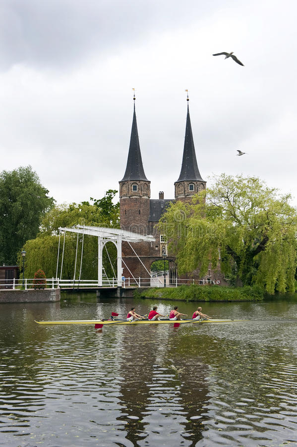 holländsk rodd arkivfoton