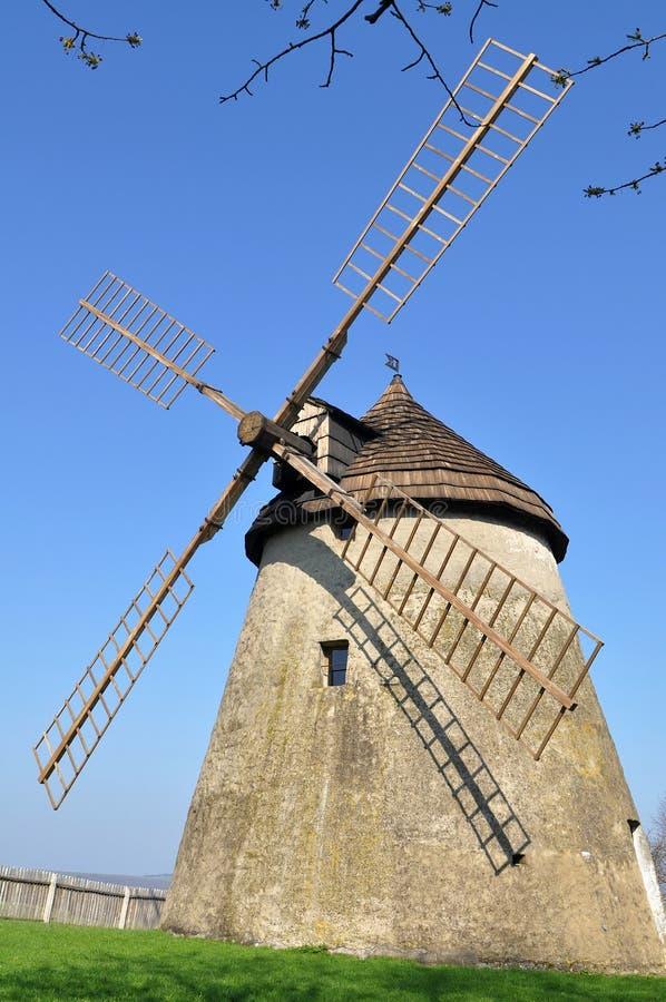 holländsk stilwindmill royaltyfri foto