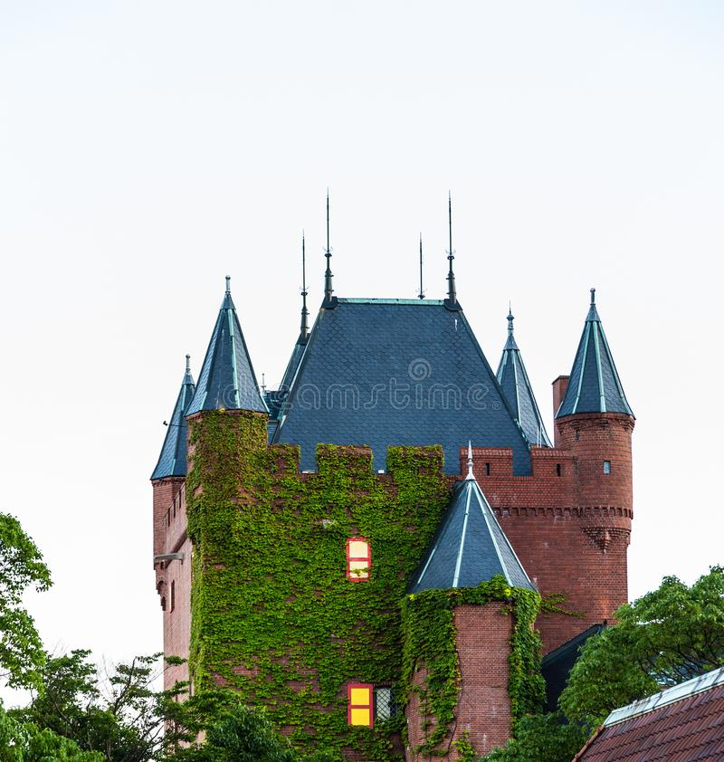 Holländsk themed byggnad på Huis ten Bosch royaltyfria foton