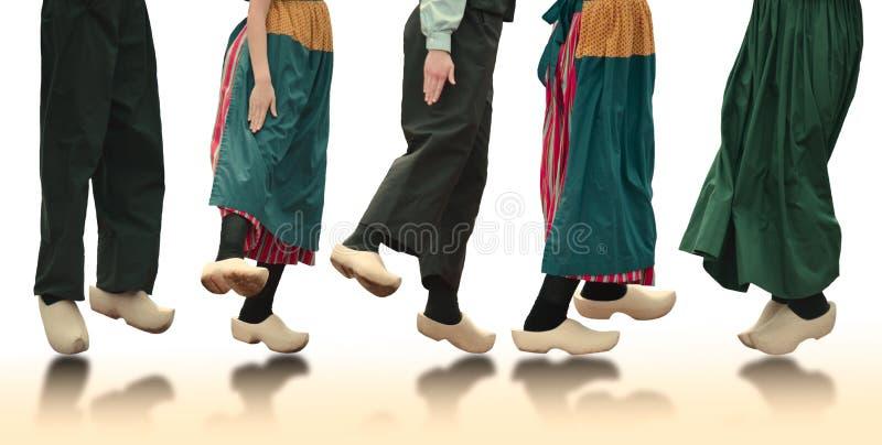 Holländska dansare arkivbild