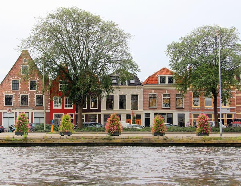 holländska hus royaltyfri fotografi