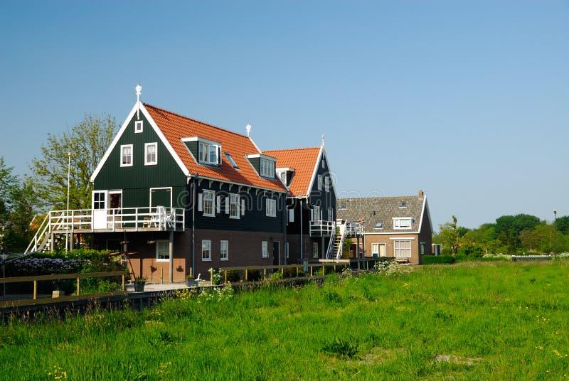 holländska hus mig som är typisk royaltyfri bild