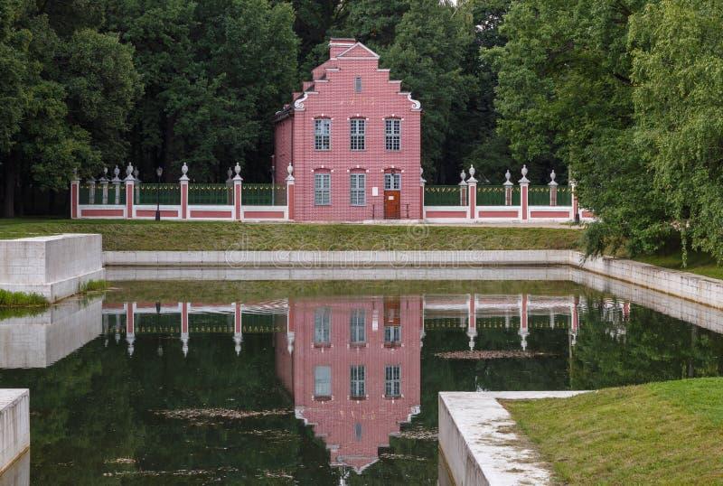 holländskt hus arkivfoto
