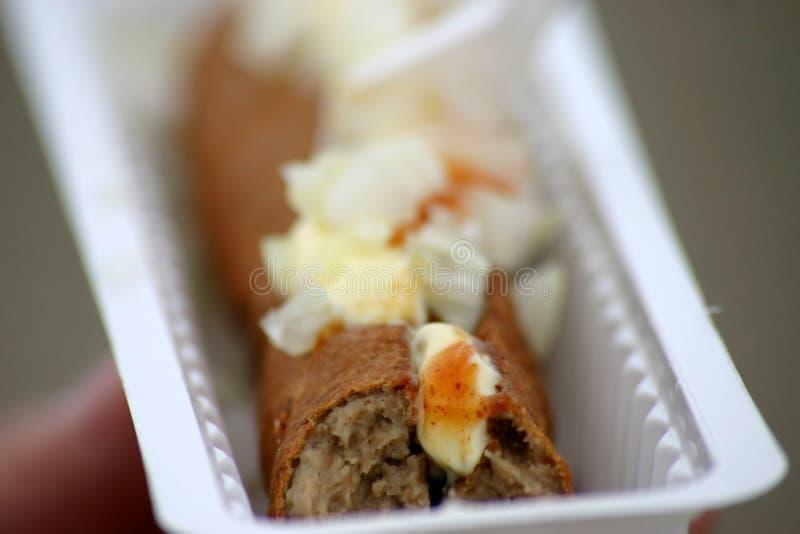 holländskt matskräp arkivbilder