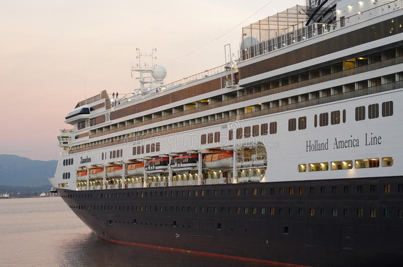 Holland America Line immagini stock