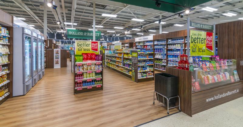 A Holland and Barrett Store stock images