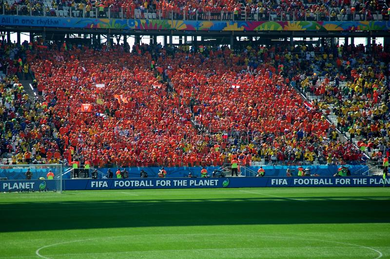 Download Holland Fans At The 2014 FIFA World Cup Editorial Photo - Image: 41863166