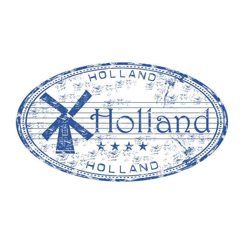 Download Holland Grunge Rubber Stamp Stock Vector - Image: 13278111