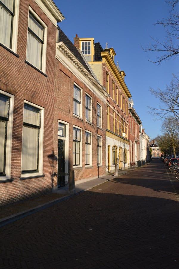 Holland-Landschaft-Alkmaar-Stadt stockbild