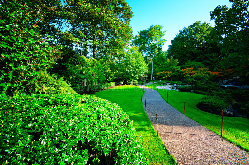Holland Park in London.