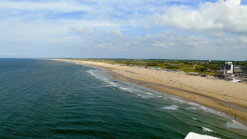 Hollandia grande vê a areia foto de stock
