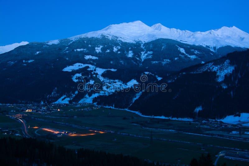 Hollersbach, Pinzgau,奥地利 免版税库存图片