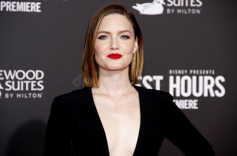 Holliday Grainger images libres de droits