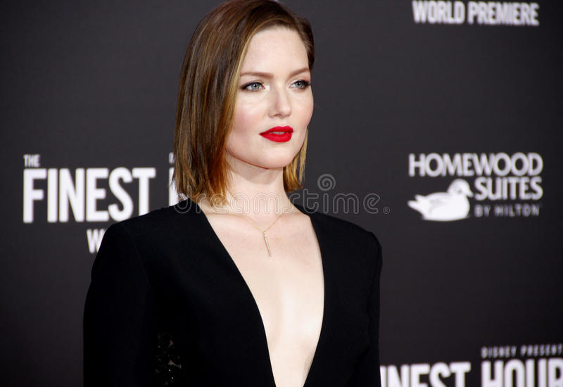 Holliday Grainger photographie stock